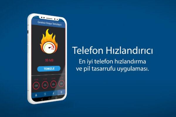 telefon hızlandırıcı